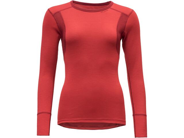 Devold Hiking T-shirt Femme, chilli